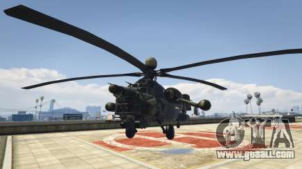 Mi-28 Night hunter for GTA 5