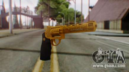 GTA 5 VIP Revolver for GTA San Andreas