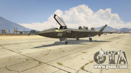 Chengdu J-20 for GTA 5