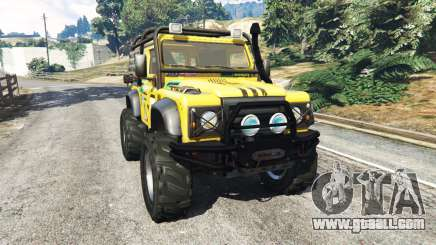 Land Rover Defender 90 1990 v1.1 for GTA 5
