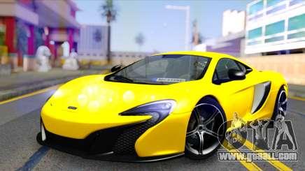 McLaren 650S Coupe for GTA San Andreas