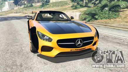 Mercedes-Benz AMG GT 2016 [LibertyWalk] for GTA 5