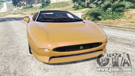 Jaguar XJ220 v1.2.5 for GTA 5