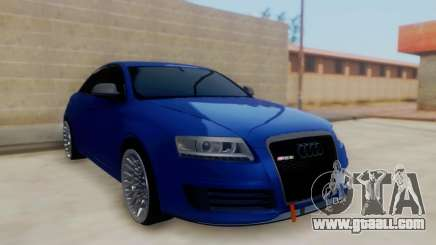 Audi RS6 sedan for GTA San Andreas