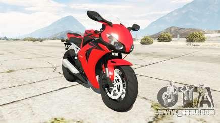 Honda CBR1000RR [Red] for GTA 5