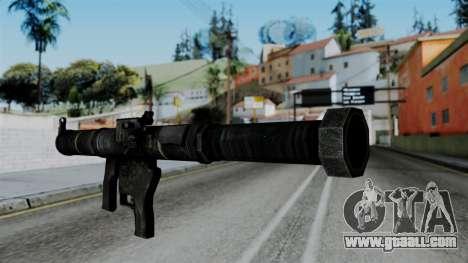 CoD Black Ops 2 - SMAW for GTA San Andreas second screenshot
