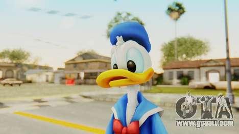 Kingdom Hearts 2 Donald Duck v1 for GTA San Andreas
