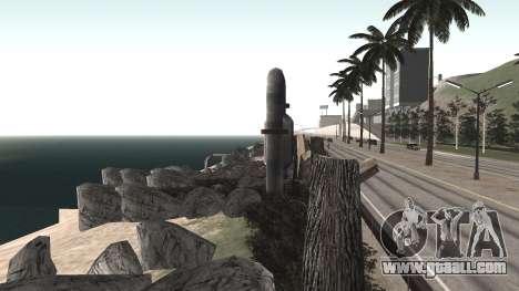 Road repair Los Santos - Las Venturas for GTA San Andreas eleventh screenshot