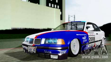 BMW M3 Coupe E36 (320i) 1997 for GTA San Andreas inner view
