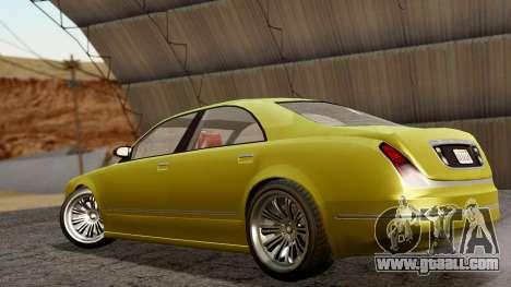 GTA 5 Enus Cognoscenti 55 IVF for GTA San Andreas left view