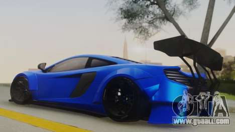 McLaren 650S Coupe Liberty Walk for GTA San Andreas back left view