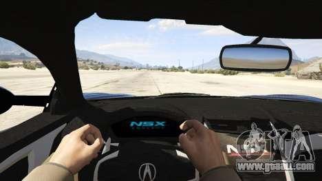 Acura NSX 2015 for GTA 5