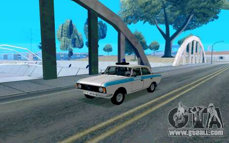 Moskvitch 412 Police for GTA San Andreas