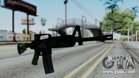 M16 A2 Carbine M727 v4 for GTA San Andreas