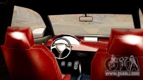 GTA 5 Enus Cognoscenti 55 IVF for GTA San Andreas back left view