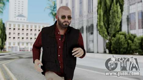Hunter Costume Michael for GTA San Andreas