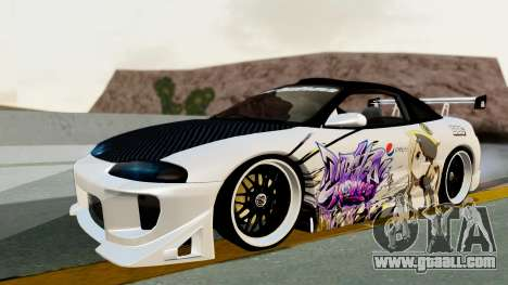 Mitsubishi Eclipse 1999 Mugi Itasha v2 for GTA San Andreas