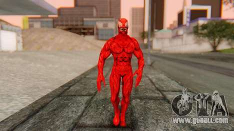 Marvel Heroes - Carnage for GTA San Andreas second screenshot