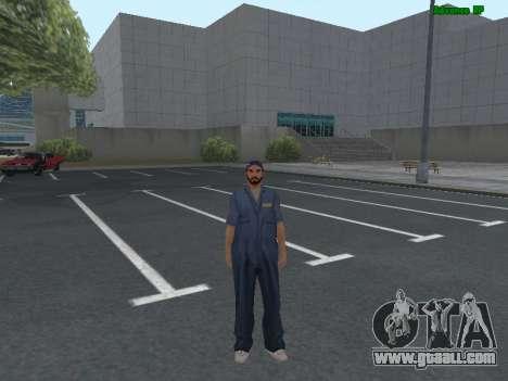 Skin worker IZH auto Repair for GTA San Andreas