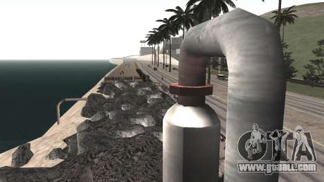 Road repair Los Santos - Las Venturas for GTA San Andreas sixth screenshot