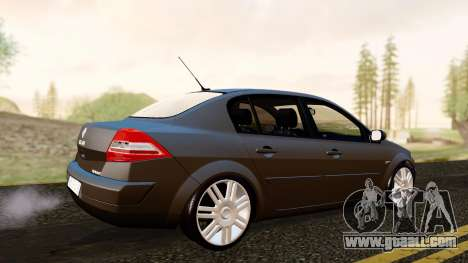 Renault Megane CPJ for GTA San Andreas back left view
