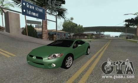Mitsubishi Eclipse GT for GTA San Andreas