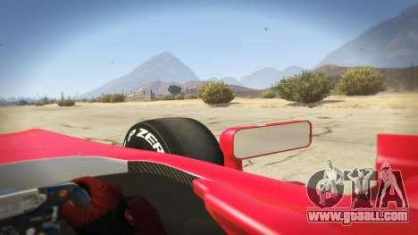 GTA 5 Ferrari F1 rear right side view