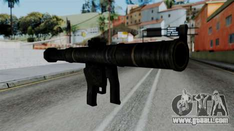 CoD Black Ops 2 - SMAW for GTA San Andreas