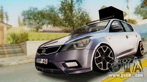 Kia Ceed Stance AirQuick for GTA San Andreas