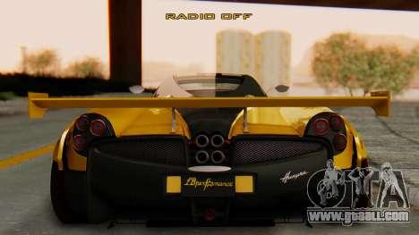 Pagani Huayra LB Performance V.2 for GTA San Andreas left view