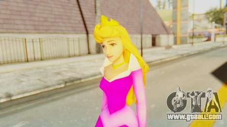 Sleep Beauty Aurora Pink for GTA San Andreas