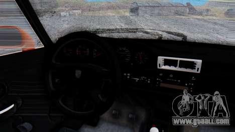 Porsche 993 GT2 RWB GARUDA for GTA San Andreas inner view