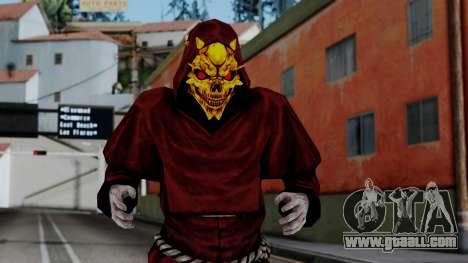 Monje Skull Gold Skin for GTA San Andreas