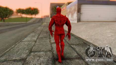 Marvel Heroes - Carnage for GTA San Andreas third screenshot