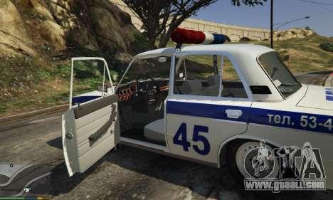 GTA 5 VAZ 2106 Police left side view