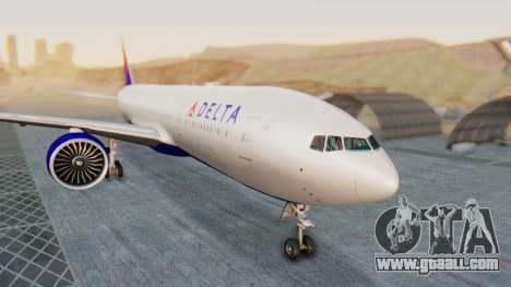 Boeing 777-200LR Delta Air Lines for GTA San Andreas