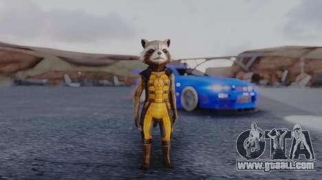 Marvel Future Fight - Rocket Raccon for GTA San Andreas second screenshot