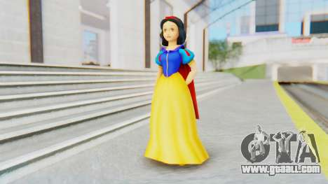 Snow White for GTA San Andreas second screenshot
