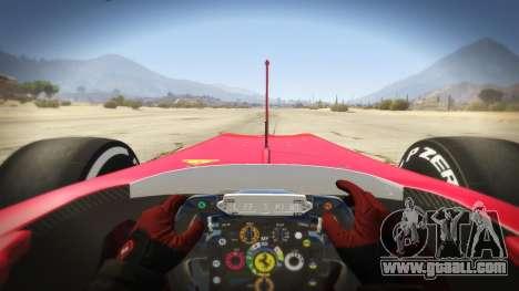 GTA 5 Ferrari F1 back view