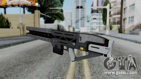 GTA 5 Railgun - Misterix 4 Weapons for GTA San Andreas third screenshot