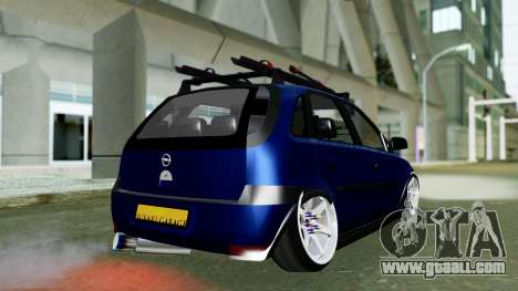 Opel Corsa C for GTA San Andreas left view