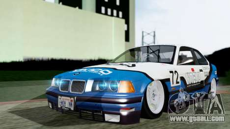 BMW M3 Coupe E36 (320i) 1997 for GTA San Andreas side view