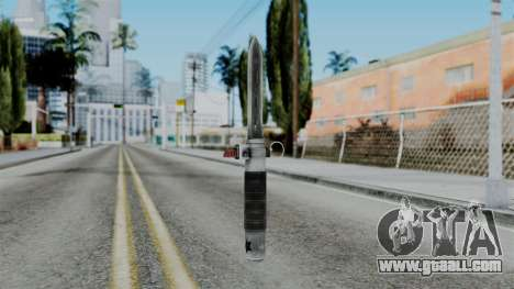 CoD Black Ops 2 - Balistic Knife for GTA San Andreas second screenshot