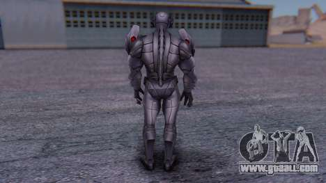Marvel Future Fight - Ultron for GTA San Andreas third screenshot