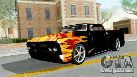 Blade New PJ for GTA San Andreas left view