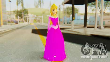 Sleep Beauty Aurora Pink for GTA San Andreas second screenshot
