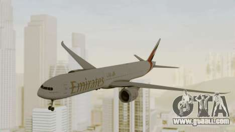 Boeing 777-9x Emirates Airlines for GTA San Andreas