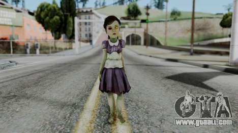 Bioshock 2 - Little Sister for GTA San Andreas second screenshot