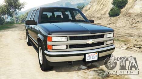 Chevrolet Suburban GMT400 for GTA 5