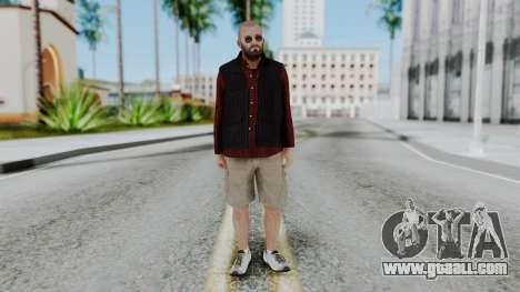 Hunter Costume Michael for GTA San Andreas second screenshot